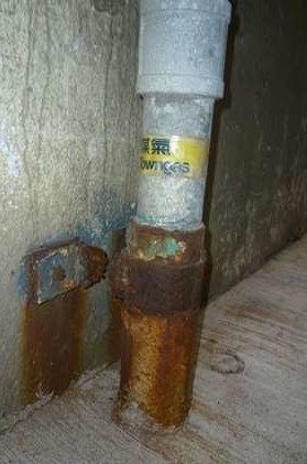 Defective Gas Pipe